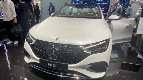 Mercedes EQE al Salone di Monaco