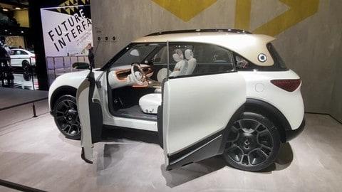 smart Concept #1, vista dal vivo al Salone di Monaco