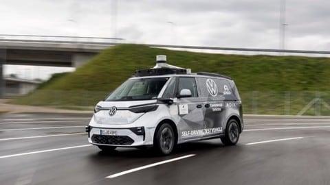 ID.Buzz AD1, la guida autonoma di VW sta arrivando