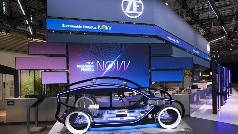ZF, tecnologia al top per la elettrificazione