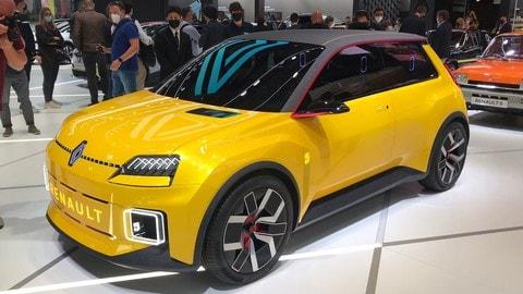 Renault R5 E-Tech al Salone di Monaco