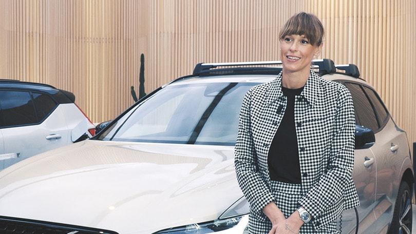 """Pellegrini: """"orgogliosa di condividere gli stessi valori di Volvo"""""""