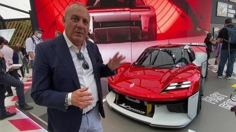 Porsche Mission R, il futuro delle competizioni al Salone di Monaco