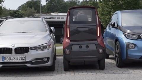"""City Transformer, citycar """"restringibile"""" al Salone di Monaco"""
