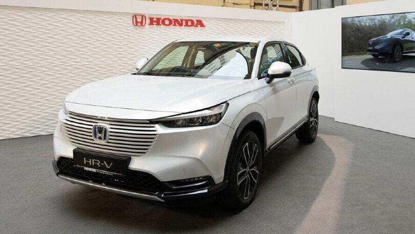Honda HR-V e:HEV, sostenibilità al centro alla Milano Design Week