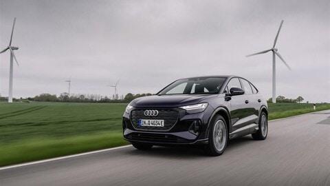 Audi Q4 e-tron Sportback, la prova