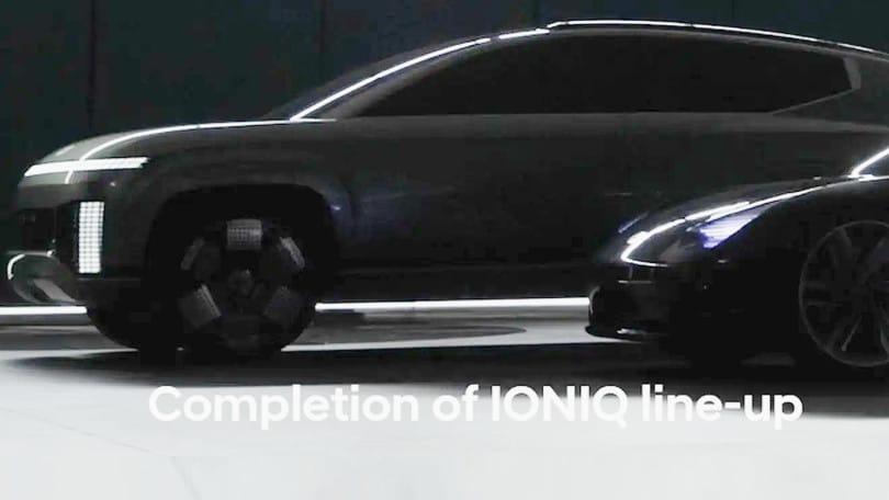 Anteprima Ioniq 7, Hyundai anticipa il grande Suv elettrico
