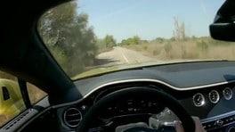 Bentley Continental GT Speed si scatena dentro la ex base NATO a Comiso