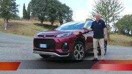 Suzuki Across plug-in hybrid, la prova