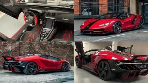 Lamborghini Centenario Roadster in vendita per più di 4 milioni di euro