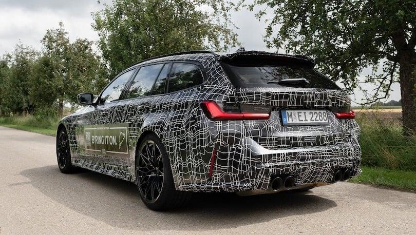 BMW M3 Touring, rieccola aspettando il debutto