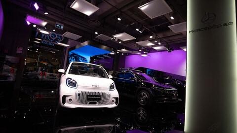 Mercedes-EQ Experience Concept, il nuovo punto della Stella alla Coin Excelsior di Roma