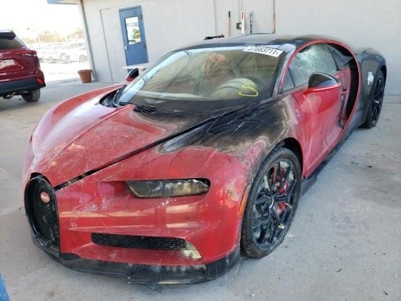 Una Bugatti Chiron a 300mila euro: un affare, ma con un rischio...