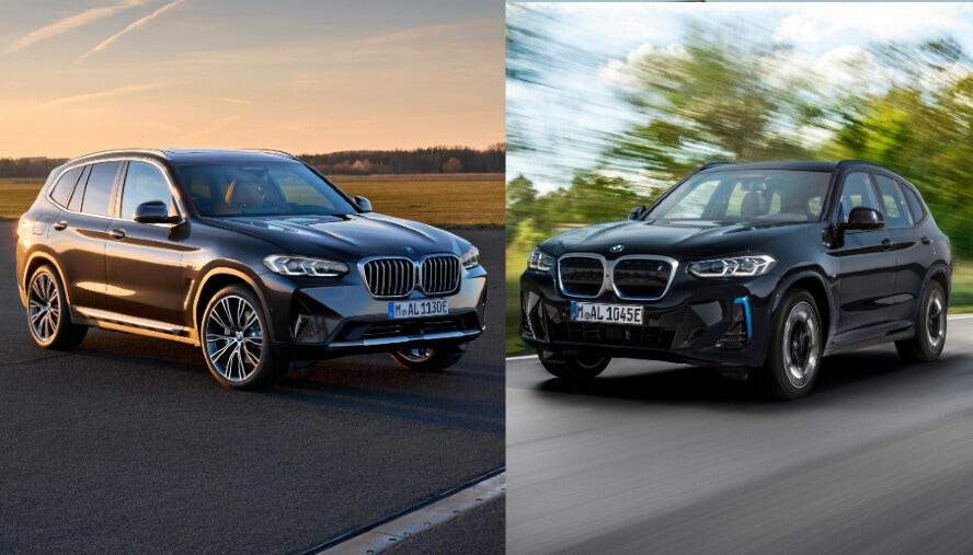 Elettrica o tradizionale? BMW X3, EV a confronto con benzina e Diesel