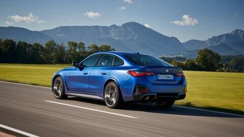 BMW i4, la prova