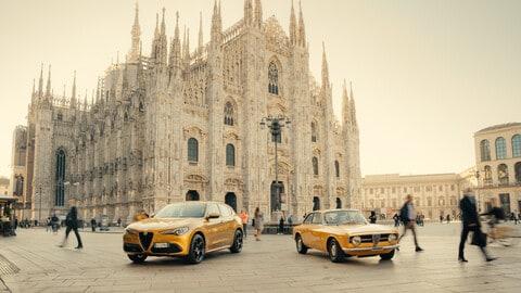 Alfa Romeo Stelvio GT Junior, serie speciale ispirata al passato