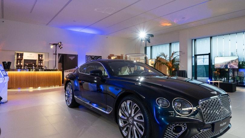 Bentley sbarca a Milano: ecco il nuovo store