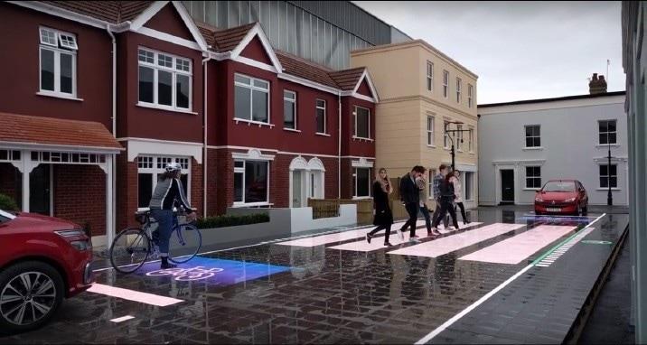 Starling Crossing, le strisce pedonali interattive e luminose
