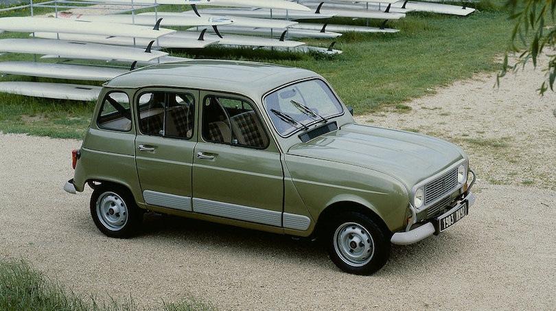 Renault 4 elettrica, i rendering anticipano il design?