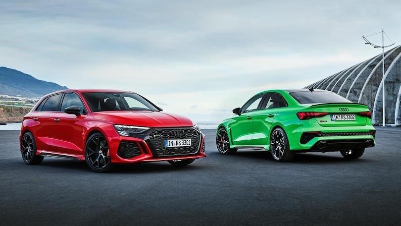 Nuova Audi RS3 2021, Sportback e Sedan dalle forti emozioni