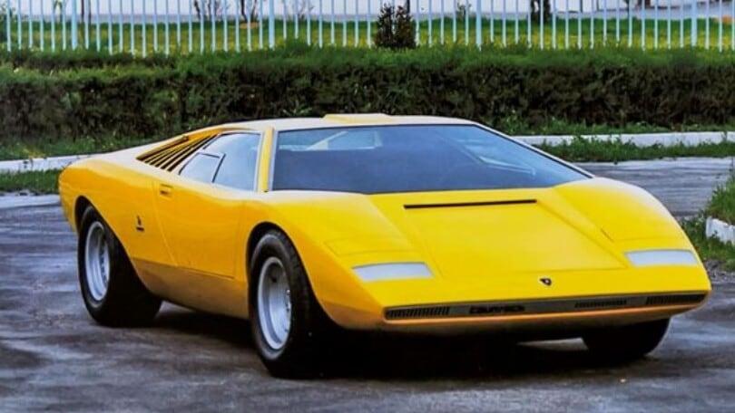 Lamborghini Countach: l'icona fa 50 anni e una video-serie la celebra